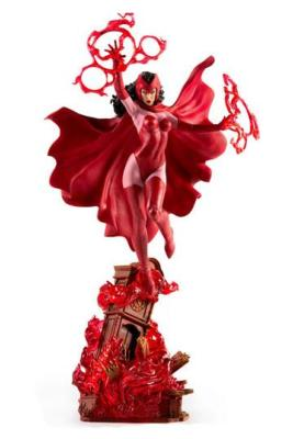 Marvel Comics statuette 1/10 BDS Art Scale Scarlet Witch 35 cm | IRON STUDIOS
