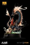 The Balance of Nine Skies statuette 1/7 Azure Dragon by PKking 50 cm