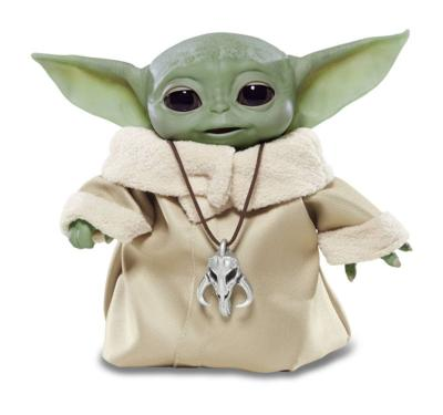 Baby Yoda  The Child Animatronic Edition Star Wars The Mandalorian figurine électronique | Hasbro