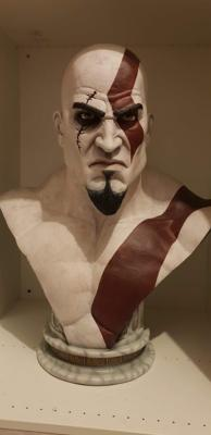 Buste Kratos God Of War | Gaming Heads