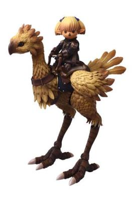 Final Fantasy XI figurines Bring Arts Shantotto & Chocobo 8 - 18 cm | SQUARE ENIX