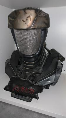 Atom Real Steel, Life Size Bust | Sideshow