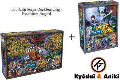 "Lot Saint Seiya Deck Building + Asgard ""EXTENSION"" 