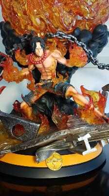 Portgas D. Ace HQS One Piece | Tsume Art