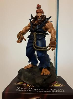 "Akuma ""Iam power"" Street Fighter  