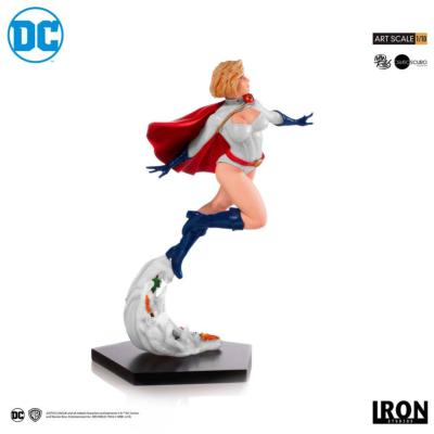 DC Comics statuette 1/10 Art Scale Power Girl by Ivan Reis 25 cm |Iron Studios