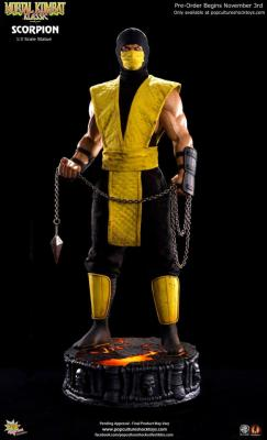 Scorpion 1/3 Mortal Kombat Klassic Line | Pop Culture Shock