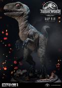 Jurassic World: Fallen Kingdom statuette 1/1 Baby Blue 69 cm