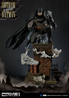 Batman Arkham Origins statuette 1/5 Gotham By Gaslight Batman Black Version 57 cm |Prime 1 Studio