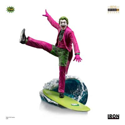 Batman 1966 statuette Deluxe BDS Art Scale 1/10 The Joker 23 cm |Iron Studios