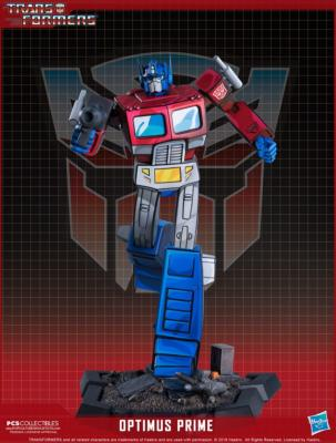 Optimus Prime 27 cm Transformers statuette Classic Scale Pop Culture Shock