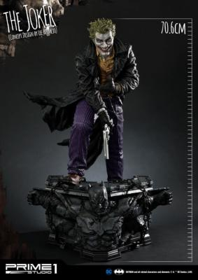 DC Comics statuette The Joker by Lee Bermejo 71 cm