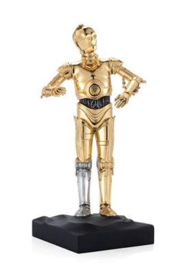 Star Wars statuette Pewter Collectible C-3PO Limited Edition 23 cm | ROYAL SELANGOR