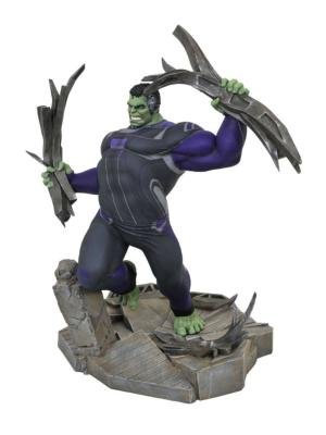 Avengers : Endgame diorama Marvel Movie Gallery Tracksuit Hulk 23 cm