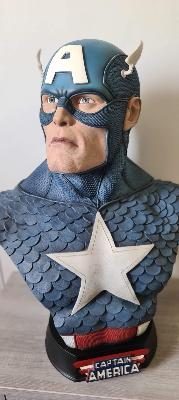 Buste 1/1 Captain America | Sideshow