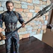 Captain America Movie Promo Edition hot toys | Sideshow