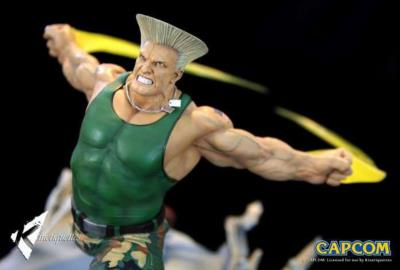 Guile Heroes Street fighter | Kinétiquettes