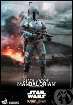 Star Wars: The Mandalorian - Death Watch Mandalorian 1:6 Scale Figure | Sideshow Toys