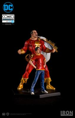 DC COMICS S.2 SHAZAM ART SCALE 1/10
