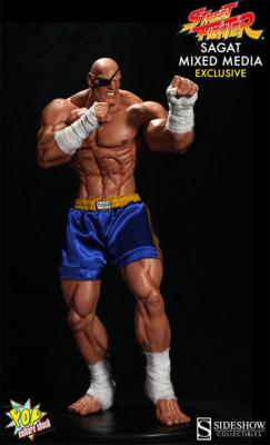 Sagat Exclusif Street Fighter | Pop Culture Shock