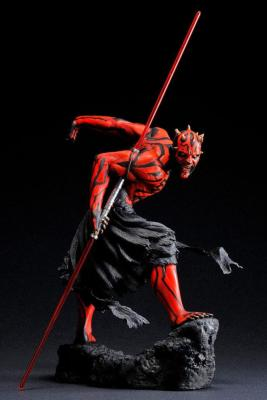 Star Wars statuette PVC ARTFX 1/7 Darth Maul Japanese Ukiyo-E Style Light-Up Edition 28 cm