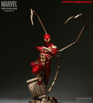 Iron Spider-Man Comiquette Statue Marvel | Sideshow