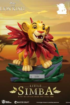 Little Simba 31 cm Disney (Le Roi Lion) statuette Master Craft | Beast Kingdom