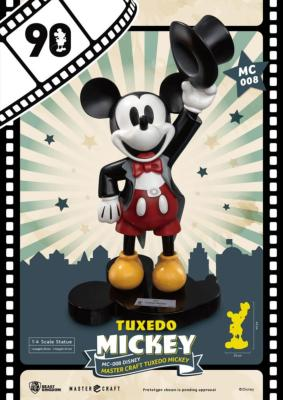 Mickey Mouse Master Craft  Tuxedo Mickey 90th Anniversary | Beast Kingdom