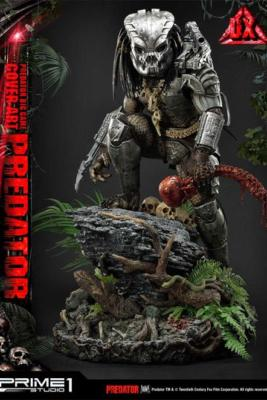 Predator statuette Big Game Cover Art Predator Deluxe version 72 cm