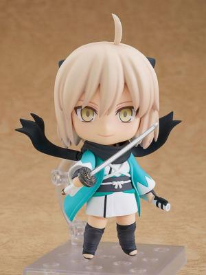 Fate/Grand Order figurine Nendoroid Saber/Okita Souji Ascension Ver. 10 cm | Good Smile Company