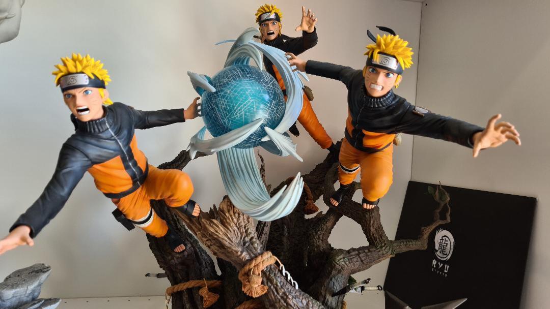Kyodai & Aniki - Naruto statue Naruto Shippuden   Ryu Studio