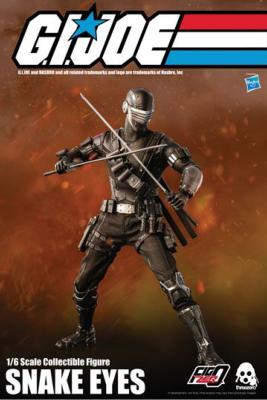 G.I. Joe figurine 1/6 Snake Eyes 30 cm | Threezero