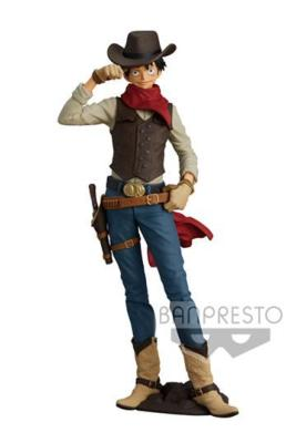 One Piece statuette PVC Treasure Cruise World Journey Monkey D. Luffy 21 cm