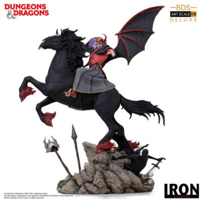 Venger with Nightmare & Shadow Demon 44cm Donjons et Dragons statuette Deluxe | Iron Studios