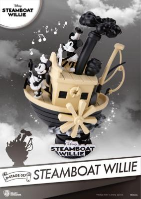 Steamboat Willie diorama Mickey & Minnie | Beast Kingdom