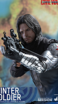 Winter Soldier Captain America Civil War | Hot Toys
