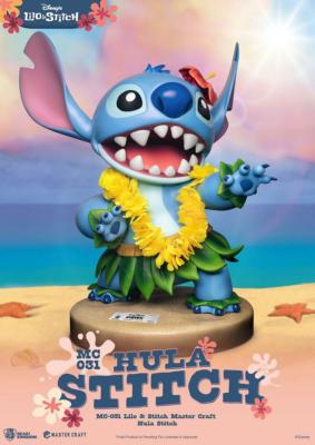 Disney statuette Master Craft Hula Stitch 38 cm | Beast Kingdom