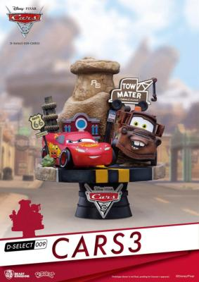 Cars 3 diorama PVC D-Select | Beast Kingdom