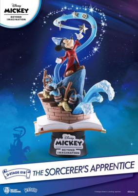 Mickey Beyond Imagination diorama The Sorcerer's Apprentice | Beast Kingdom